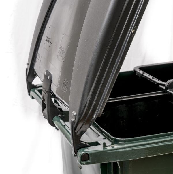 Lockhållare - fyrfack från sidan