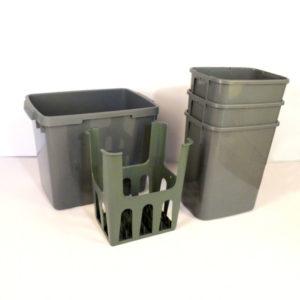 Passar de flesta lådutdrag under diskbänkar med bredd 80cm.