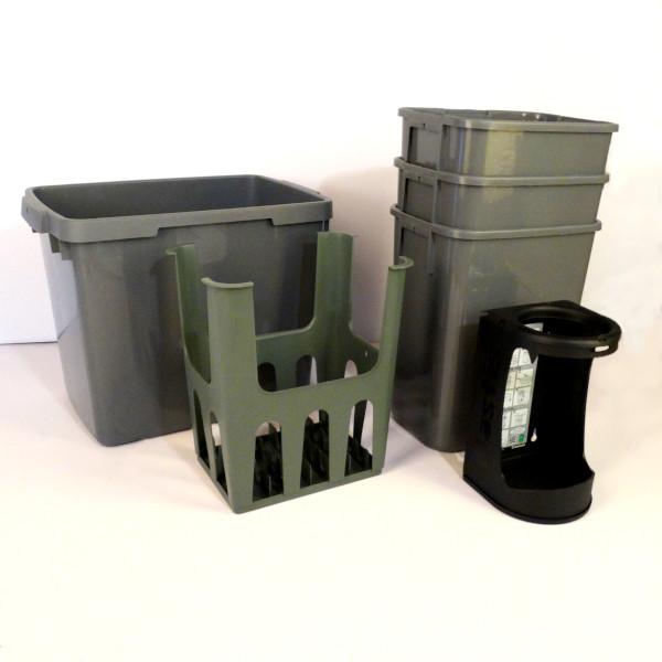Passar de flesta diskbänksskåp med bredd 80cm.